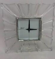 Mikasa Crystal Monarch Clock Brand New Beautiful Clock From Germany