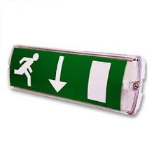 LED Emergency Lighting Non-Maintained 3W Bulkhead Exit Light
