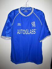 vintage CHELSEA 1999 2000 2001 home shirt Umbro XL Autoglass maillot trikot rare