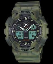 GA-100MM-3A Green G-shock Casio Men's  Watches 200m Resin Band Brand-New Limited