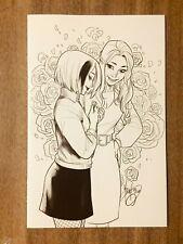 Buffy the Vampire Slayer Willow #2 Andolfo 1:25 Virgin B&W Sketch Variant Vf/Nm