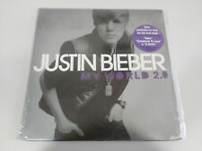"JUSTIN BIEBER MY WORLD 2.0 ISLAND 2010 LP VINILO VINYL 12"" NEW NUEVO SEALED &"