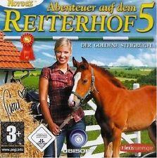 ABENTEUER AUF DEM REITERHOF 5  PC CD-ROM - NEU & SOFORT