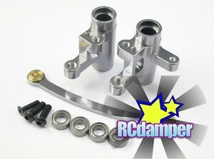 GPM ALUMINUM BEARING STEERING ASSEMBLY GY TEAM LOSI 1/14 MINI 8IGHT BUGGY 8