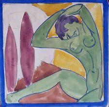 Raymond MOISSET (1906-1994) Gouache années 30 ou 40 / Fauviste / Fauvist