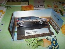 Prospectus / Brochure lancement OPEL Meriva 2010 //