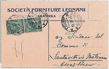CARTOLINA d'Epoca ASCOLI PICENO provincia - Amandola 1915