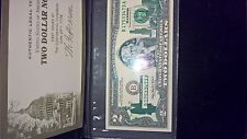 2 DOLLAR BILL. SERIES A 2003 ILLINOIS