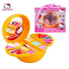 New Lovely Hello Kitty Orange Make Up Set Toy Set For Girls Kids Children