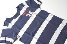 Shirt T-Shirt - Kurzarm + gestreift + USED LOOK - Gr.134 140