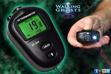 Infrared Backlit IR Thermometer Close Range Cold Spot Paranormal Ghost Hunt Tool