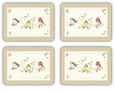 Cooksmart Dawn Chorus Placemats Set of 4 Table Mat Place Dining