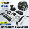 80CC 2 Stroke Motorized Push Bike Motorised Bicycle Petrol Gas Motor Engine Kit