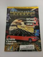 Vintage Limousine digest magazine - September 2000 Vol. 10 No. 9 EUC RARE