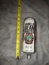 Great River Tap Handle Vanilla Bean Porter Beer Can Shaped Heavy Wood