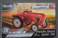 "Revell 07820 Tractor ""Porsche Diésel Junior 108"" Kit 1:24 Nuevo"