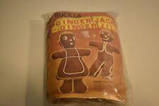 New listing Vintage Bucilla #7835 Ginger Jack or Ginger Jill Gingerbread Doll Crochet Kit