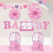 With Love Girl Room Decoration Kit Pink Baby Shower Party