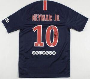 Neymar Signed Paris Saint-Germain F.C. Jersey (Beckett LOA)