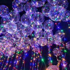 LED Party Luftballon Mit LED Lichterkette Bunt Deko Hochzeit Helium 2019