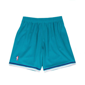 Mitchell & Ness Teal NBA Charlotte Hornets 1992-93 Road Swingman Shorts
