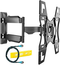 Invision Ultra Slim Tilt Swivel TV Wall Mount Bracket - For Most 26 - 60 Inch -
