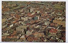 ROANOKE VA early Town Aerial View z postcard