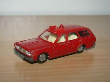 Tomica Tomy NO.47 Nissan Cedric Station Wagon Fire Car Red Old Style Wheels 1:64