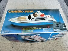 New listing Vintage 1981 Caribic-Star Speed Cruiser Nikko R/C Power Boat in Box Tested Works