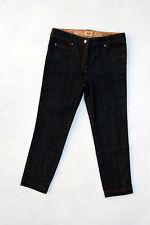Alviero Martini Prima Classe Dark Grey Jeans Denim 3/4 jeans Stretch W28 uk10