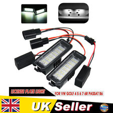 Error Free LED Number License Plate Light For VW Golf 4 5 6 7 Passat B6 Polo UK