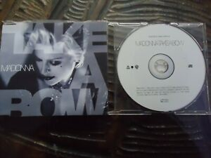 MADONNA , CD SINGLE, TAKE A BOW ,POP,FEMALE VOCAL