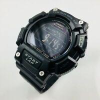 Men's Casio Digital Black Tough Solar Watch STLS110H-1B2