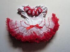 NWT Popatu Ruffle Tutu Petti Holiday Dress Baby Infant Girls 18 Months