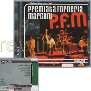 """PREMIATA FORNERIA MARCONI """"PRIME IMPRESSIONI"""" RARO CD 1997 - PFM"""