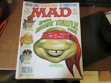 VINTAGE MAD Magazine No. 291 DEC 89  SPECIAL MUTANT TURTLE ISSUE