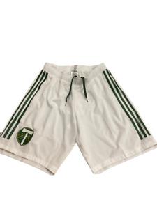 Adidas MLS Portland Timbers Training Shorts White/Green CE3228