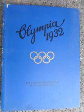 Olympiade  1932 WBilderalbum aus  Besitz Oppeln-Bronikowski
