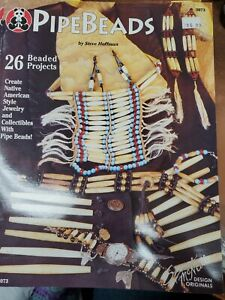 Pipebeads [Booklet 1994] Steve Hoffman Suzanne McNeill Craft Book Instructions