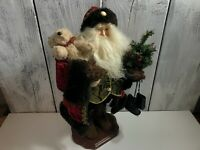 21' Christmas Santa Claus Figure/Statue Elegantly Dressed & Very Lifelike USA