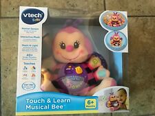 Touch & Learn Musical Bee Baby,Inteactive Toddler Pre- K Educational Pink Nib