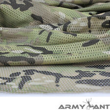 "Multi-Colors Camo Camouflage Net Cover Army Military 60""W Mesh Fabric Cloth"