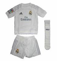 Real Madrid Kinder Trikot Set Minikit Adidas Camiseta Maglia Shirt 164