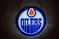 "New Edmonton Oilers Logo Man Cave LED Neon Sign 20"""