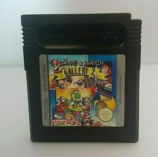 GAME AND WATCH GALLERY 2 *Nintendo GAME BOY PAL EUR Game* Loose
