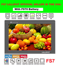 "Lilliput FS7 7"" IPS HD Camera-Top Broadcast Monitor for Sony PXW-FS7 EVA1 Gimbal"