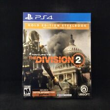 Tom Clancy's The Division 2 Gold Edition Steelbook (PS4) BRAND NEW