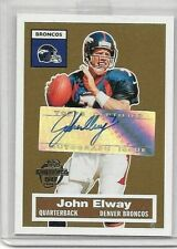 JOHN ELWAY 2005 TOPPS 50th #3 OF 22 CERTIFIED AUTOGRAPH