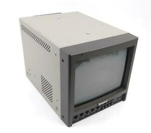 """2003 Ikegami TM9-1D 9"""" Color CRT BNC/SDI Video Monitor - Tested & Working"""