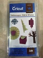 Cricut Tablescapes Fall & Winter Cartridge 2001798 NEW #133